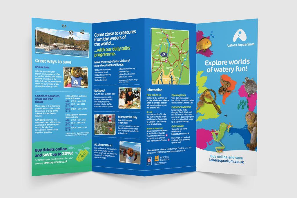 Lakes Aquarium Promotional Literature